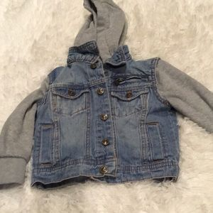 Jean jacket for 24 month